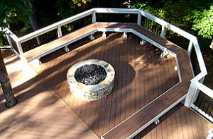 Archadeck of Charlotte designs and builds decks and outdoor living spaces