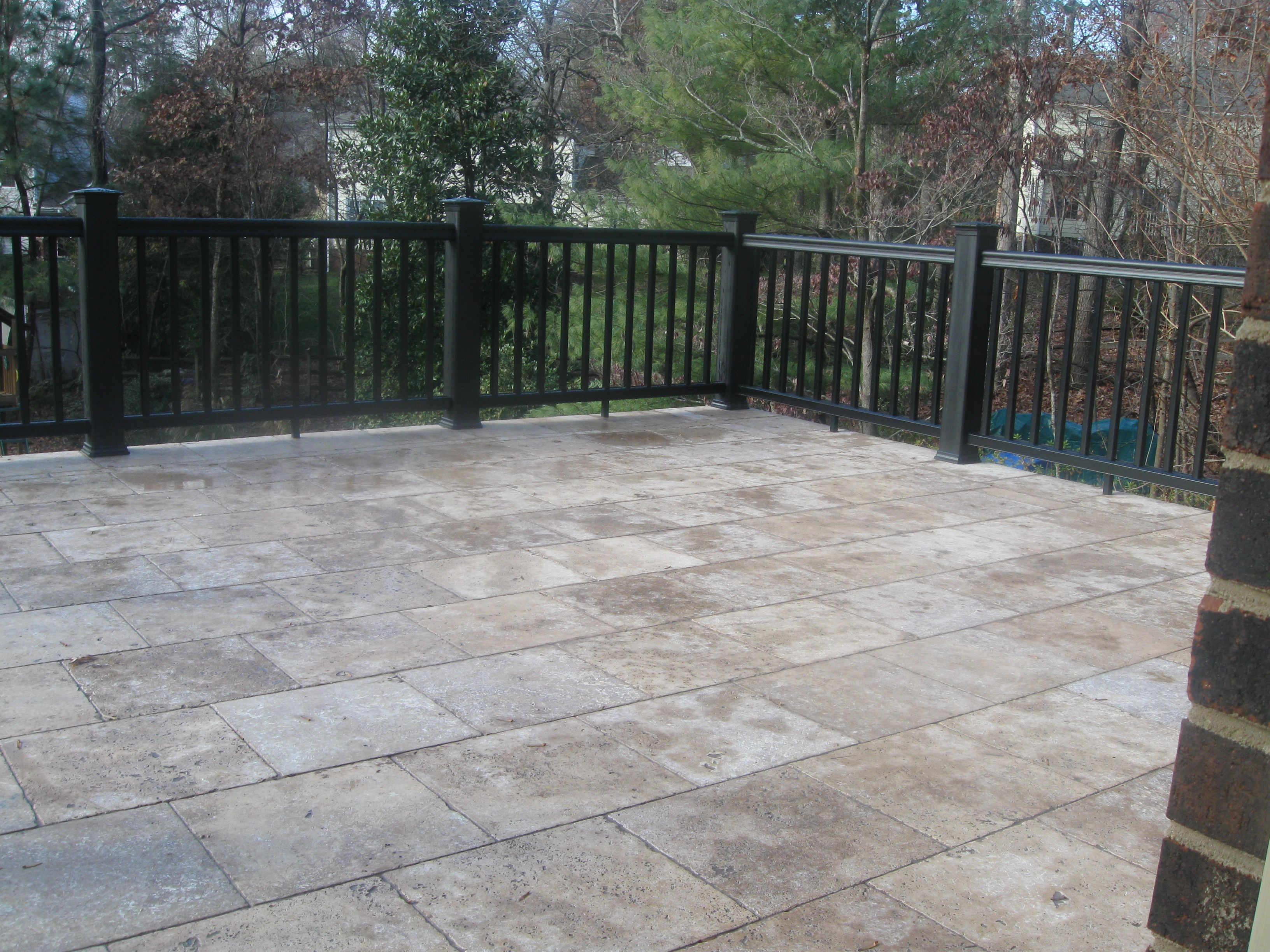 patio archadeck of charlotte page 7 - Patio Stone Ideas With Pictures