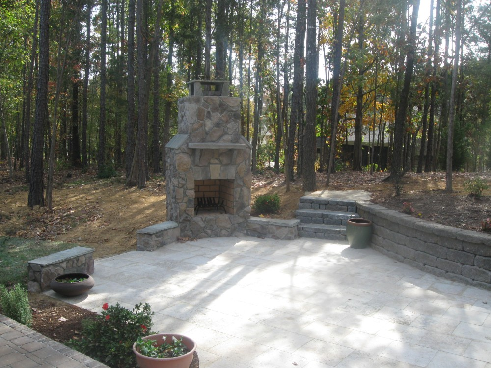 How much should an outdoor fireplace cost?
