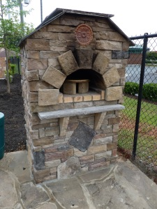 Charlotte outdoor pizza oven