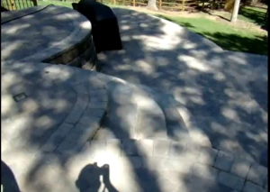 Multi oval charlotte hardscape patio