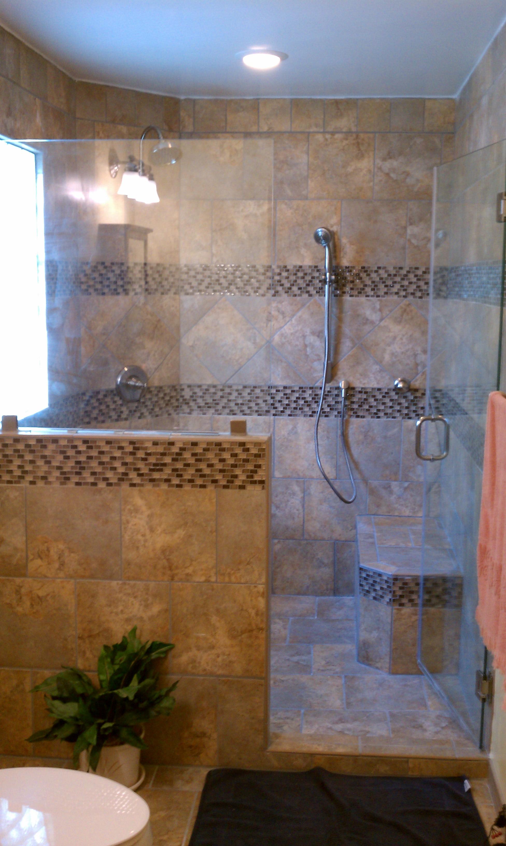 shower curtain vs shower door page 4 babycenter. Black Bedroom Furniture Sets. Home Design Ideas