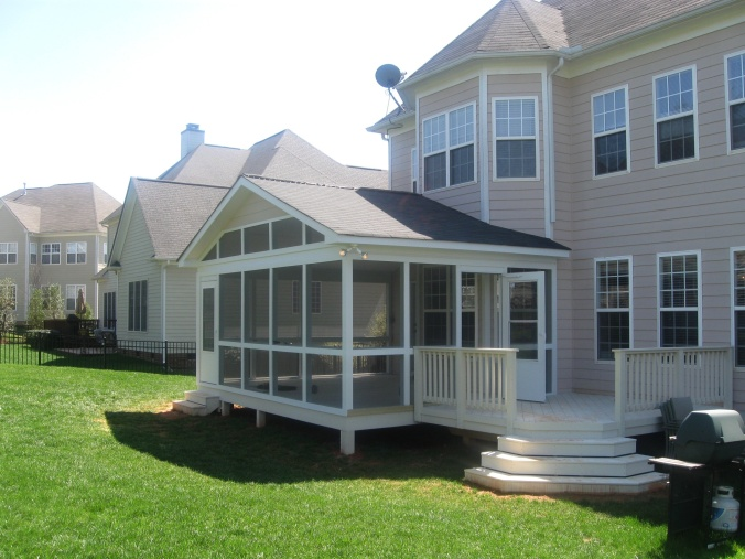 Screen porch by Archadeck of Charlotte