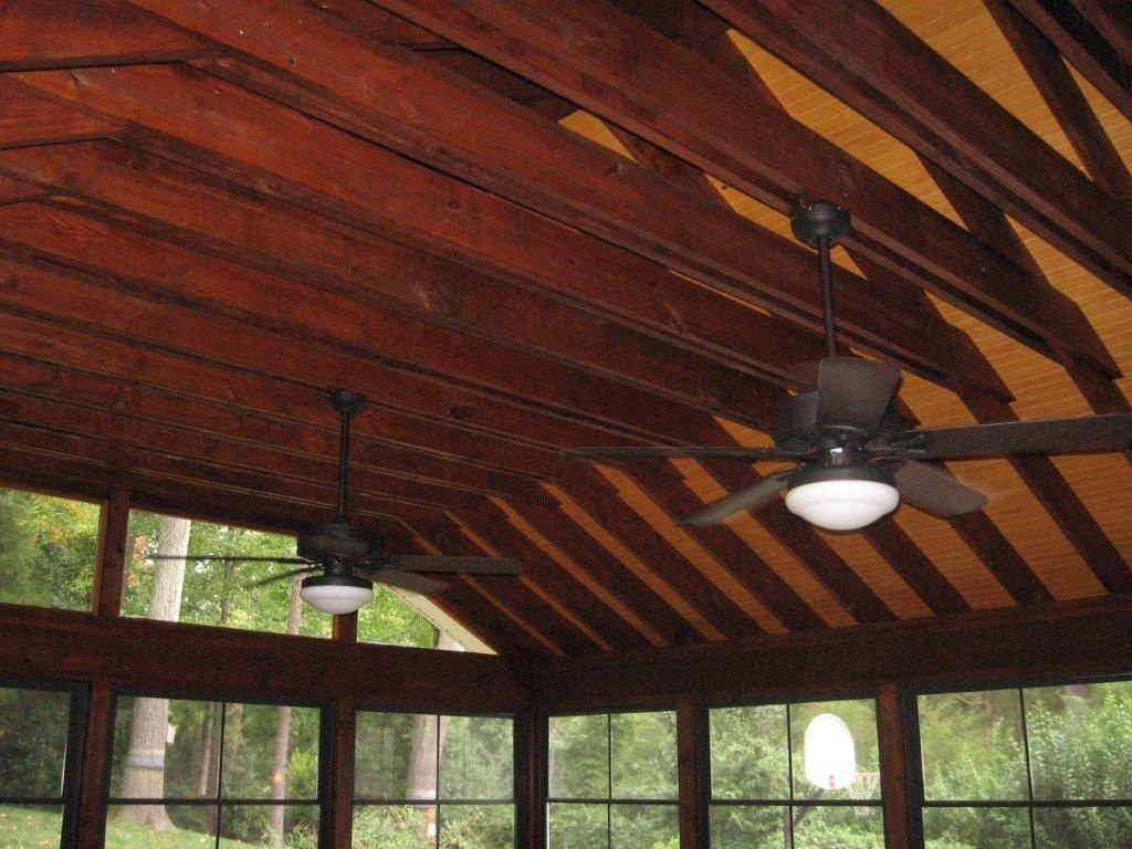 Why Does My Screen Porch Or Covered Deck Roof Leak Only At
