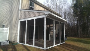 Archadeck of Charlotte got rave reviews for its partnership with Make A Wish and providing this custom screen porch for a deserving family