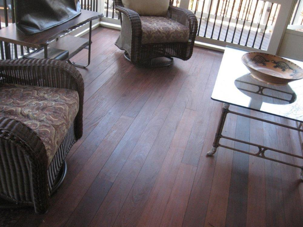 Ipe Brazilian Hardwood Decking is becoming popular for Lake Wylie decks (1/2)