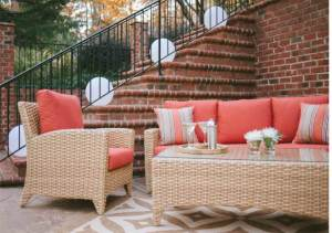 Casuwel Outdoor Furiture is the most comfortable and complete line of all weather furnishings available through Archadeck of Charlotte