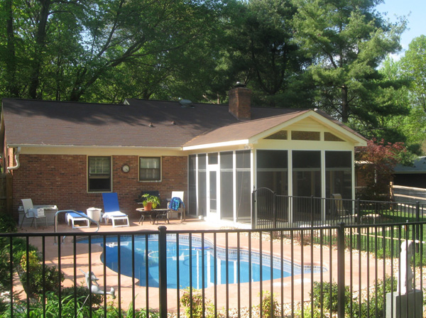 Pool Patio W Screened Porch