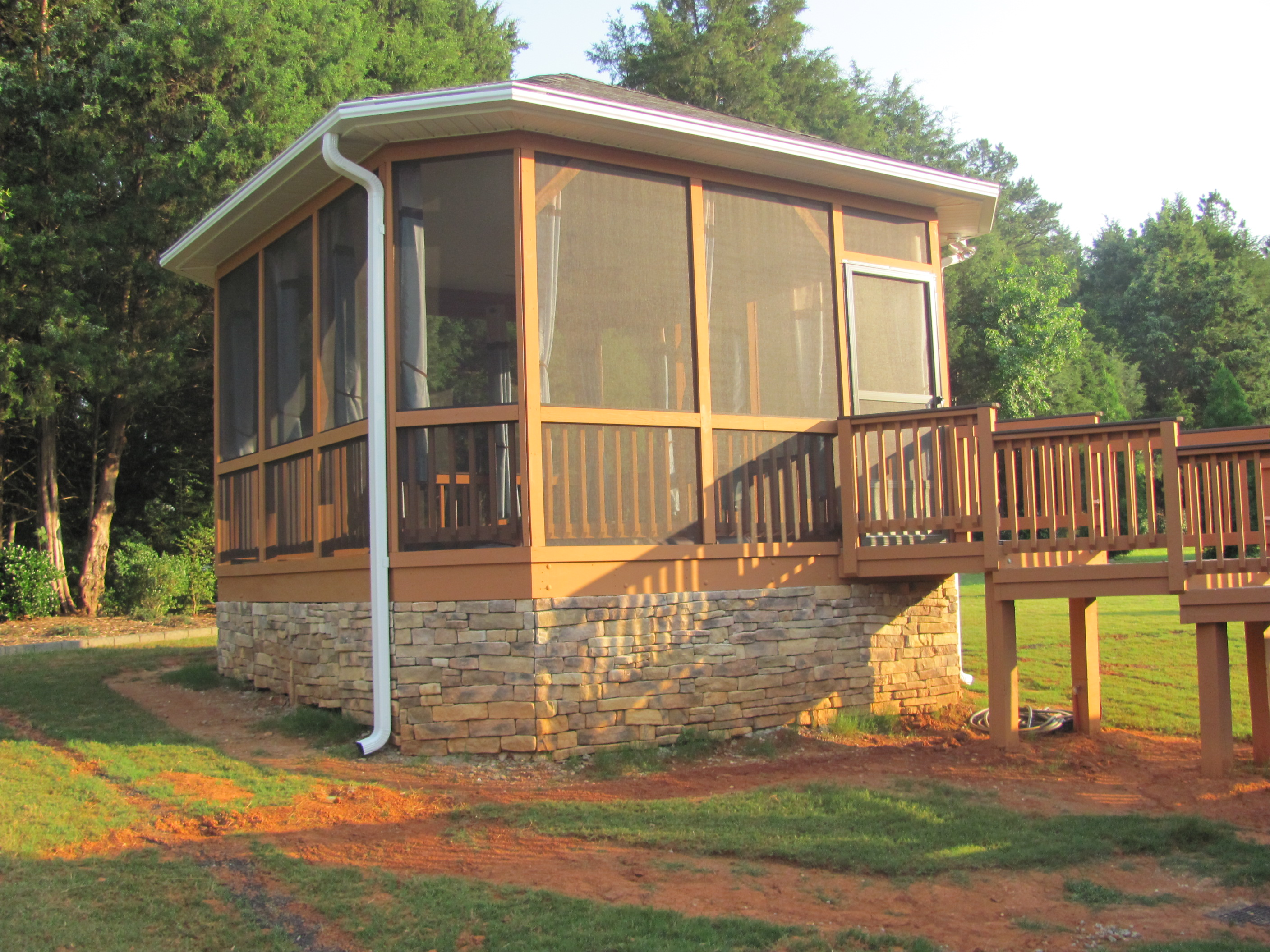 deck designs | Archadeck of Charlotte on Patio Enclosures Ideas  id=22091