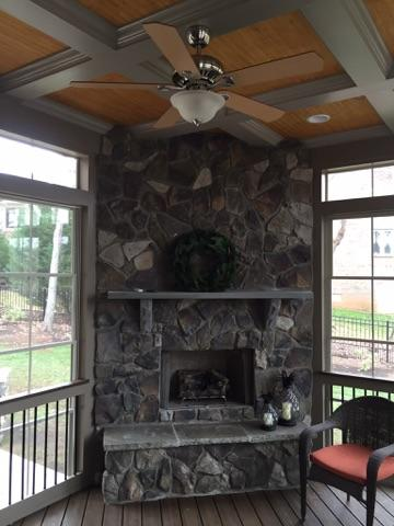 Pin Stone Outdoor Fireplace Patio Charlotte Pictures On